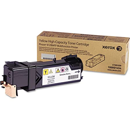 Xerox 106R01454 Toner Cartridge (Yellow,1-Pack)