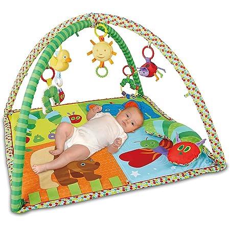 日本育児 ベビージム はらぺこあおむし アクティビティプレイジム 新生児から対象 成長過程に合わせて使用可能