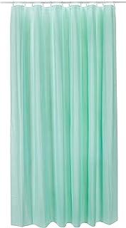 Spirella Plastic Curtain TWILL MINT 180 x 180 1205868, White, Standard