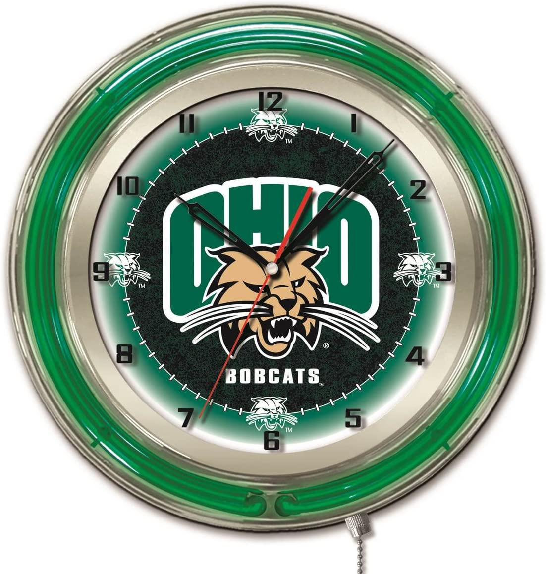 Ohio online shopping Bobcats HBS Neon Green Black Wall College discount Powered Battery C