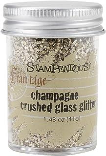 Stampendous 1-Piece 1.59 oz Glass Glitter Champagne