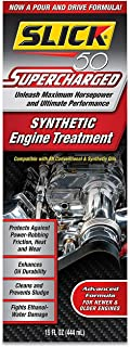 Slick 50 S 750001 Supercharged Full Synthetic Engine Treatment, 15. Fluid_Ounces