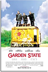 Garden State Movie Poster Movie Wall Art Canvas Prints Poster For Home Office Decorations Unframed 18