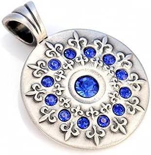 Bico Australia Jewelry (Cr1 Blue) French Lily Pendant - Spiritual Truth