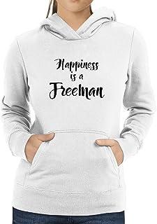 Eddany Happiness is a Freeman Women Hoodie