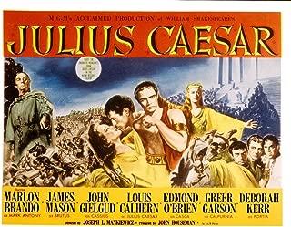 Posterazzi Julius Caesar Louis Calhern Greer Garson James MASO N Marlon Brando Deborah Kerr John Gielgud Edmond O'Brien 1953 Movie Masterprint Poster Print (28 x 22)