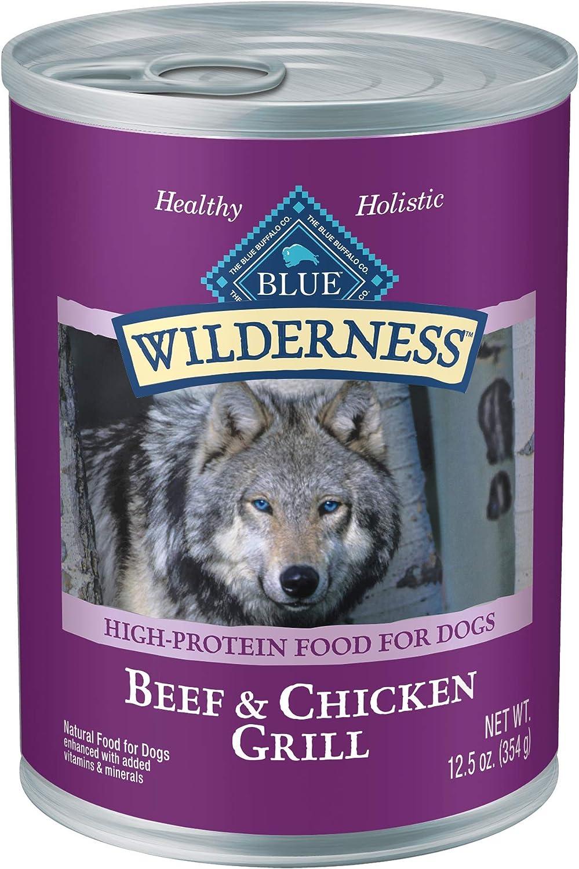 Blue Buffalo Wilderness Beef & Chicken Grill
