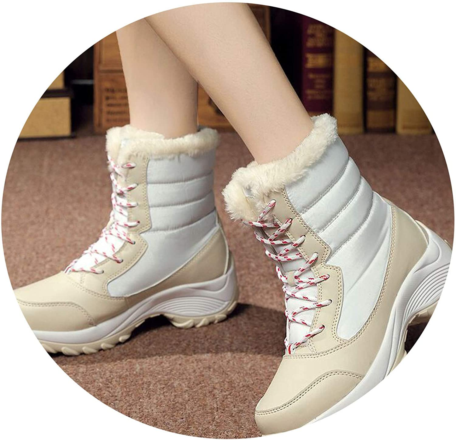 colorful Dream- 2019 Winter Boots Fashion Boots Women Snow Boots shoes girlw Boot