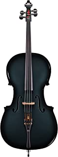 Glasser Acoustic-Electric Cello, 5 string (Blue)