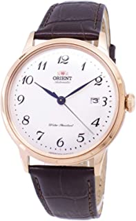 ساعة بامبينو الاوتوماتيكية بسوار جلدي من اورينت، RA-AC0001S00C