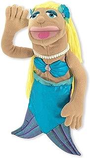 Melissa & Doug Mermaid Puppet Tan/Yellow/Turquoise
