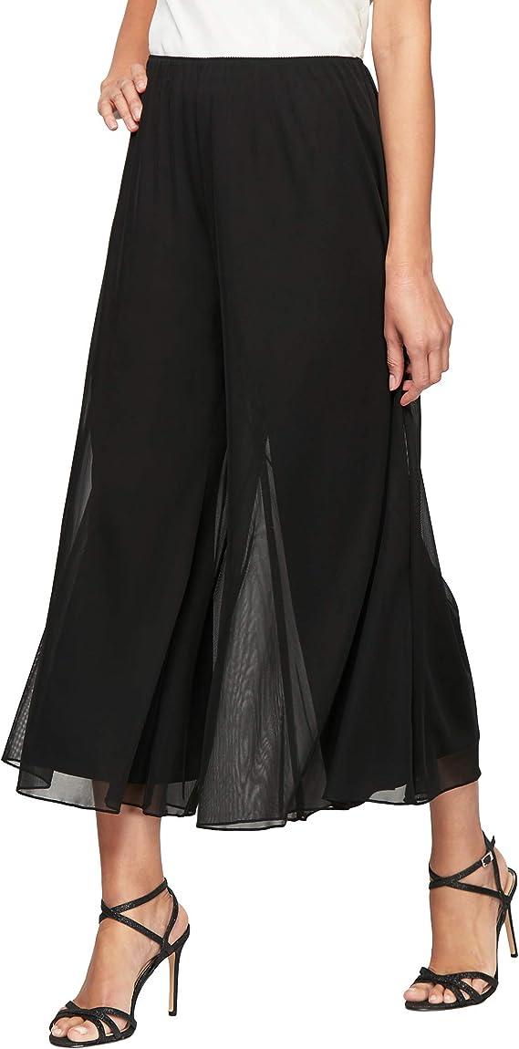 Alex Evenings Pantalones Anchos De Pierna Pantalones Para Vestir Para Mujer Amazon Com Mx Ropa Zapatos Y Accesorios