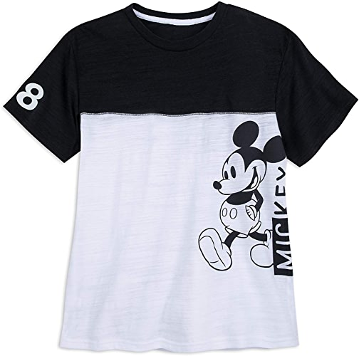 Disney Mickey Mouse Sports Jersey T-Shirt for Hommes Taille Pour des hommes L blanc