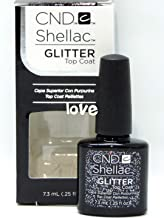 CND Shellac GelColor Nail Polish/Base/Top/Brand New Gel Color #3 - Choose Any 91732- Shellac Small Glitter Top Coat