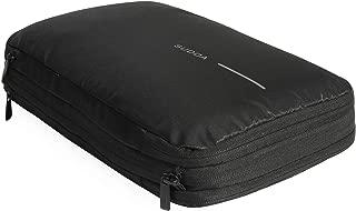圧縮袋 旅行 便利グッズ 衣類圧縮袋 トラベルポーチ ファスナー圧縮で衣類スペース58%節約 軽量 出張 簡単圧縮 1年品质保証 …