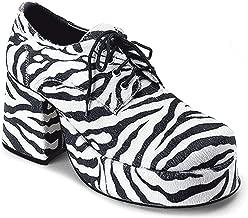 Black 70's Men's Pimp Shoe