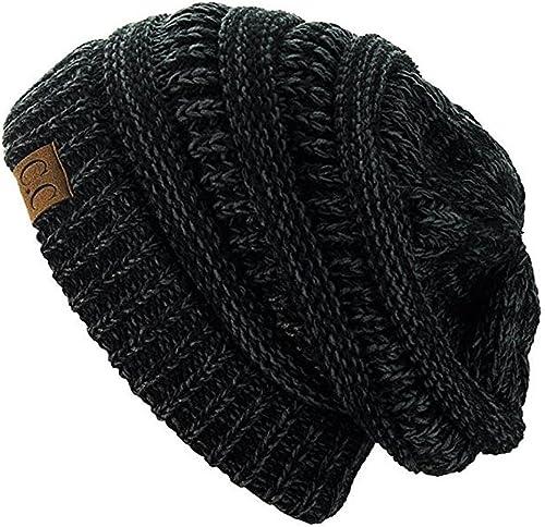 Unisex Hat Benny Beanie Cap Women Ladies Mens Knit Ski Hats Bennie Slouch Warm