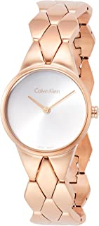 Women's Analogue Quartz Watch with Stainless Steel Strap K6E23646