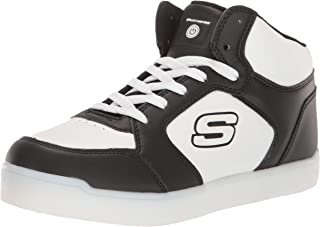 Skechers Kids' Mid Top Lace Up Shoe W/Hidden Sneaker