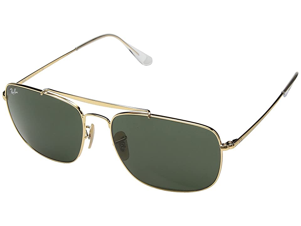 Ray-Ban The Colonel RB3560 61mm (Gold/Green) Fashion Sunglasses