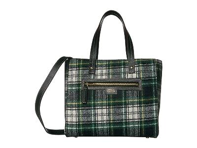 Frances Valentine Small Henry Shopper (Plaid) Handbags