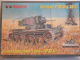 Maquette 1: 35WWII German Pz。Bf Wg 38( T )–プラスチックモデルキット# mq3541