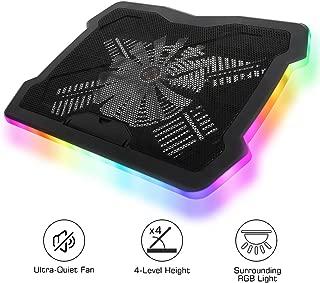MoKo RGB Laptop Cooler, 10