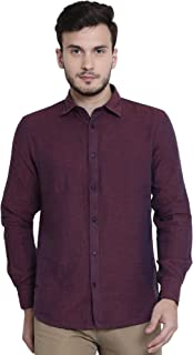 Crimsoune Club Red Solid Men's Shirt