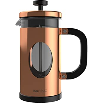 2 Cup Stainless Steel Coffee Press Replacement Filter French Press Coffee Maker 0,35 Litre Double-Walled /& incl Groenenberg Cafeti/ère