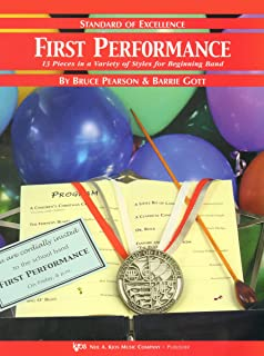 W26TP - First Performance - Standard of Excellence - 1st/2nd Trumpet/Cornet