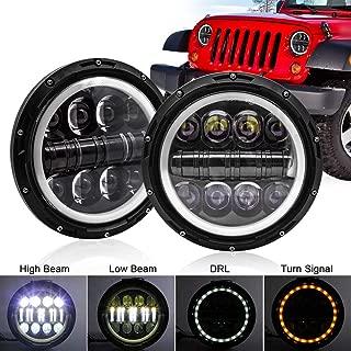 Jeep Wrangler LED Headlight SAFEGO 7