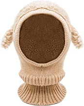 crochet hooded scarf with ears