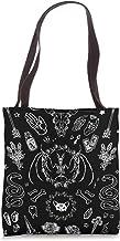 Whimsical Wiccan Goth Pagan Botanical Bag Nature Witch Hazel Cotton Canvas Bag Hedgewitch Tote Bag Book Market Shopper Shoulder Bag