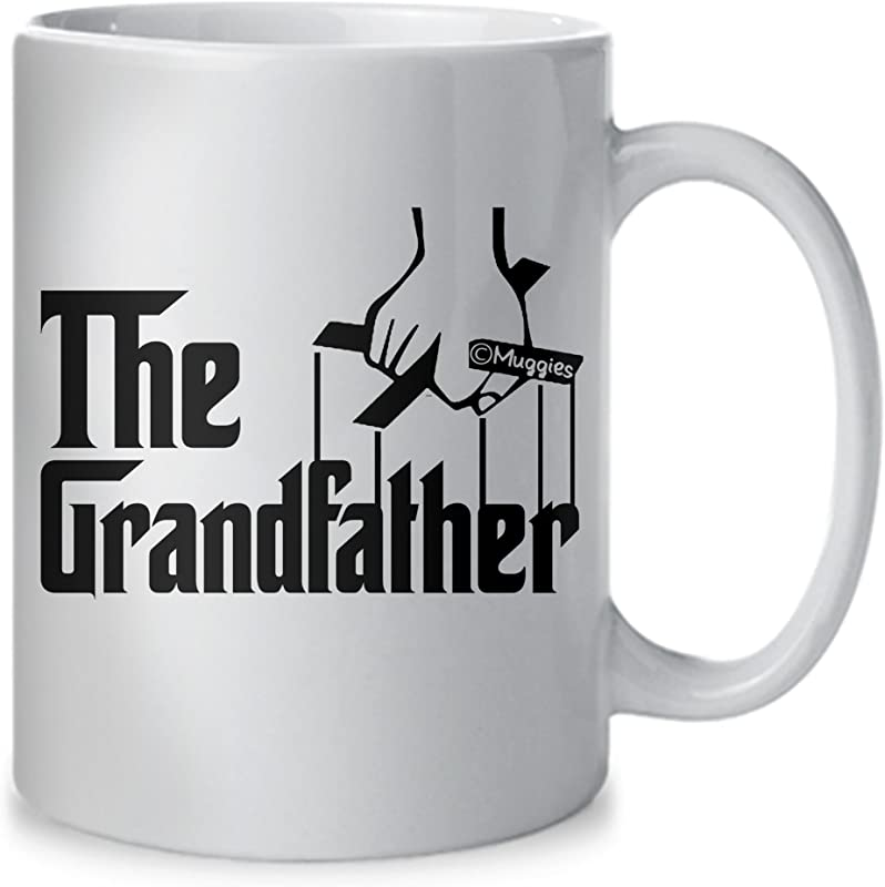 Muggies The Grandfather Coffee Mug Unique Gift Idea For Dad And Grandpa Or Husband For Fathers Day Birthday Or Christmas