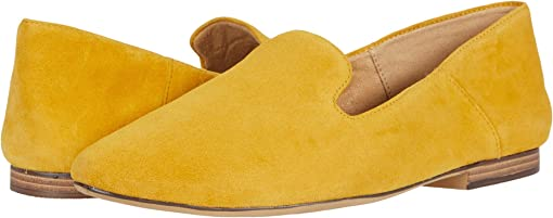 Sunset Yellow Suede