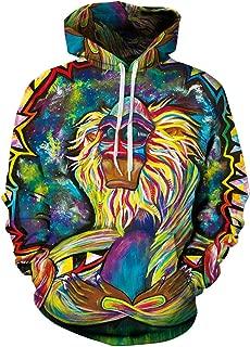 meditating rafiki unisex hoodie