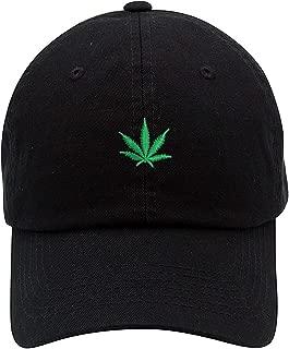 Marijuana Cannabis Unstructured Unisex Dad Hat