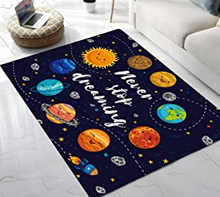 Best solar system rug Reviews