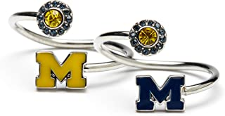 Gift Set-UM Wolverines Maize & Blue One for You and One for Me Rings | University of Michigan Rings | Michigan Wolverines Jewelry