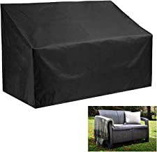Oslimea Patio Loveseat Cover Patio Bench Cover 3 Seater, Durable Waterproof Outdoor Long Chair Cover Lounge Sofa Cover Lov...
