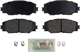 Bosch BE1210 Blue Disc Brake Pad Set for Select Lexus HS250h; Pontiac Vibe; Scion xA, xD; and Toyota Corolla, Matrix, Prius V, RAV4 - FRONT