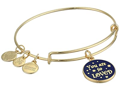 Alex and Ani Harry Potter Bangle Bracelet (Gold/You Are So Loved) Bracelet