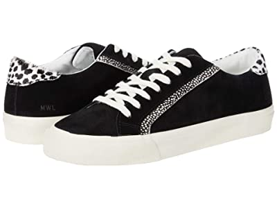 Madewell Sidewalk Low Top Sneakers (Black/Ivory Multi) Women