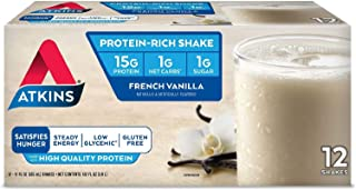Atkins Advantage French Vanilla Shake (11 fl. oz., 12 pk.)