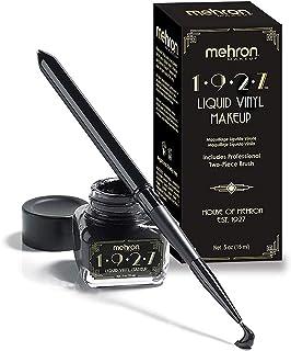 Mehron Makeup 1927 Liquid Vinyl Makeup (.5oz) (Jet Black)