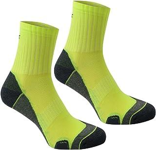 Karrimor Mens Dri Skin 2 Pack Running Socks Quarter Breathable Moisture Wicking