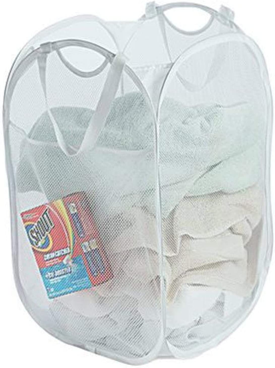 Smart Design Super beauty product restock quality top Deluxe Pop-Up Laundry Hamper Easy Carry w Side Handles