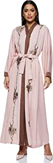 Nukhbaa Women's Abaya, Pink