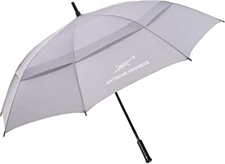 Extreme Degrees Oversize Golf Umbrella. Windproof Waterproof Sports Umbrella XL. Extra Large for Men, Women with Vented 62 Inch Double Canopy. Perfect for The Sun & Rain.