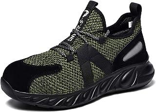 ZOEASHLEY Chaussure de Securite Homme Legere et Confortable Basket de Securite